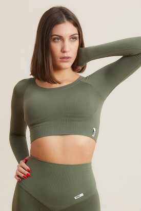 Bolero Nikita Gym Fashion Verde Militare