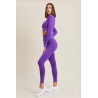 Leggings Push up Gym Fashion Viola Royal